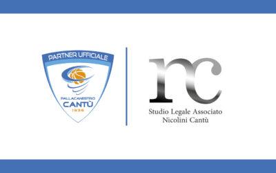 STUDIO LEGALE ASSOCIATO NICOLINI CANTÙ SI CONFERMA PARTNER UFFICIALE