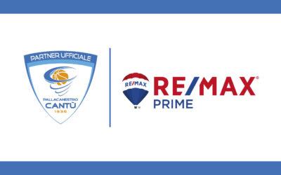 PALLACANESTRO CANTÙ E REMAX PRIME RINNOVANO LA PARTNERSHIP
